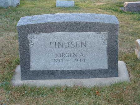 FINDSEN, JORGEN A - Shelby County, Iowa | JORGEN A FINDSEN