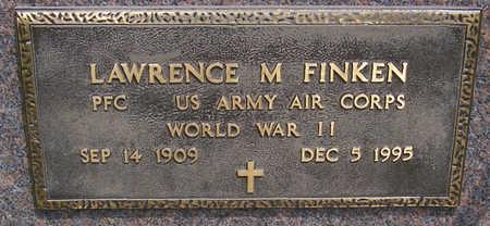 FINKEN, LAWRENCE M. (MILITARY) - Shelby County, Iowa | LAWRENCE M. (MILITARY) FINKEN