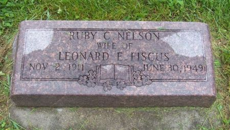 NELSON FISCUS, RUBY C. - Shelby County, Iowa | RUBY C. NELSON FISCUS