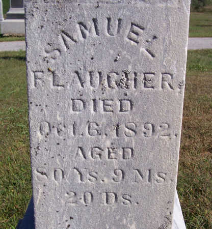 FLAUGHER, SAMUEL (CLOSE UP) - Shelby County, Iowa   SAMUEL (CLOSE UP) FLAUGHER