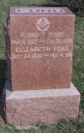 FORD, ELIZABETH - Shelby County, Iowa | ELIZABETH FORD