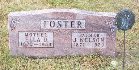 FOSTER, ELLA D. (MOTHER) - Shelby County, Iowa | ELLA D. (MOTHER) FOSTER