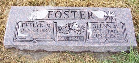 FOSTER, GLENN M. - Shelby County, Iowa   GLENN M. FOSTER