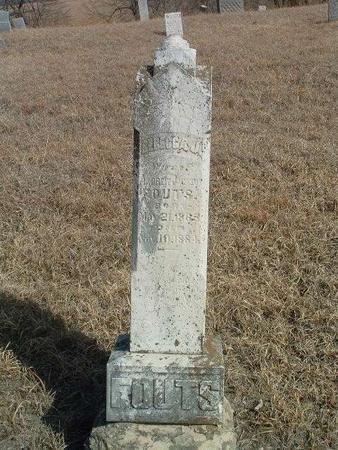 FOUTS, REBECCA J. - Shelby County, Iowa   REBECCA J. FOUTS