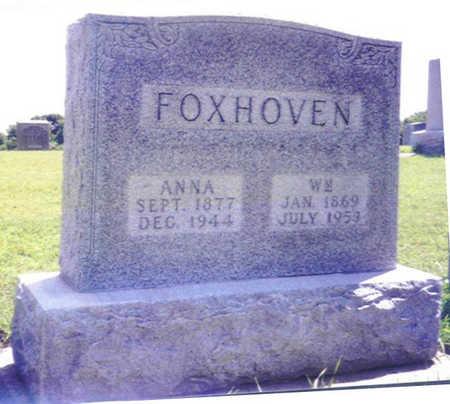 ENGEL FOXHOVEN, ANNA BARBARA - Shelby County, Iowa | ANNA BARBARA ENGEL FOXHOVEN