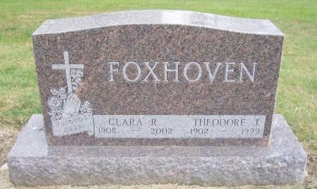 FOXHOVEN, CLARA R. - Shelby County, Iowa | CLARA R. FOXHOVEN