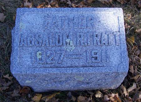 FRATT, ABSALOM R. (FATHER) - Shelby County, Iowa | ABSALOM R. (FATHER) FRATT