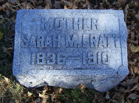 FRATT, SARAH M. (MOTHER) - Shelby County, Iowa | SARAH M. (MOTHER) FRATT
