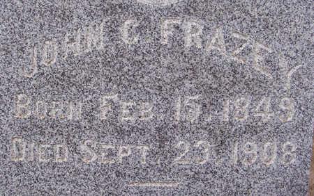 FRAZEY, JOHN C. (CLOSE-UP) - Shelby County, Iowa | JOHN C. (CLOSE-UP) FRAZEY
