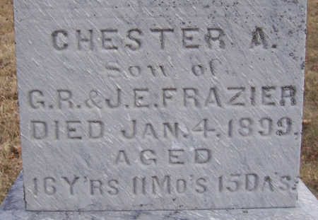 FRAZIER, CHESTER A. (CLOSE-UP) - Shelby County, Iowa | CHESTER A. (CLOSE-UP) FRAZIER