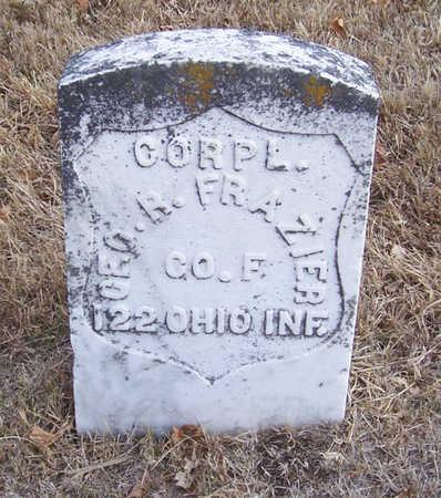 FRAZIER, GEO. R. (MILITARY) - Shelby County, Iowa | GEO. R. (MILITARY) FRAZIER