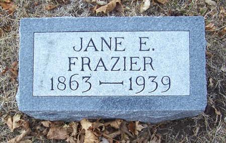 FRAZIER, JANE E. - Shelby County, Iowa | JANE E. FRAZIER