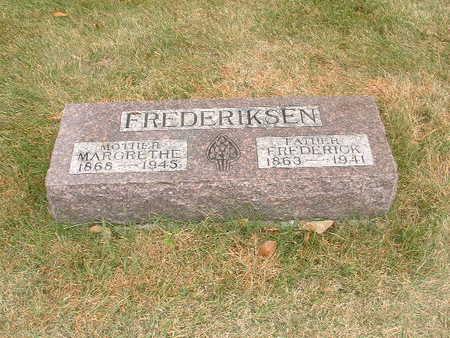 FREDERIKSEN, FREDERICK - Shelby County, Iowa | FREDERICK FREDERIKSEN