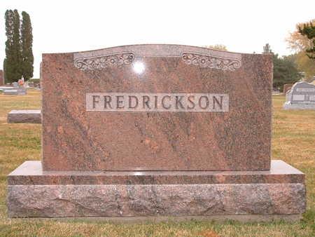FREDRICKSON, LAWRENCE - Shelby County, Iowa | LAWRENCE FREDRICKSON