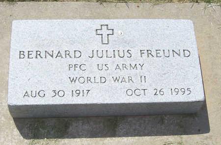 FREUND, BERNARD J. - Shelby County, Iowa | BERNARD J. FREUND