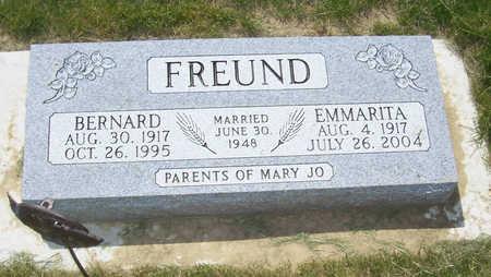 FREUND, EMMARITA - Shelby County, Iowa | EMMARITA FREUND