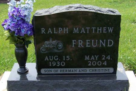 FREUND, RALPH MATTHEW - Shelby County, Iowa | RALPH MATTHEW FREUND