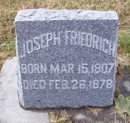 FRIEDRICH, JOSEPH - Shelby County, Iowa | JOSEPH FRIEDRICH