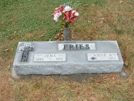 FRIES, ANNA B - Shelby County, Iowa | ANNA B FRIES