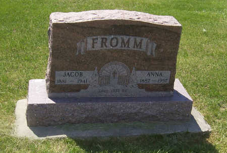 FROMM, ANNA - Shelby County, Iowa   ANNA FROMM