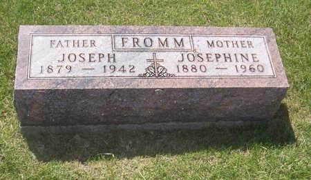 FROMM, JOSEPHINE - Shelby County, Iowa   JOSEPHINE FROMM