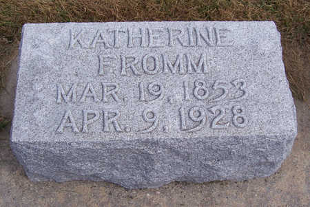 FROMM, KATHERINE - Shelby County, Iowa | KATHERINE FROMM