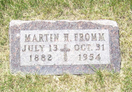 FROMM, MARTIN H. - Shelby County, Iowa | MARTIN H. FROMM