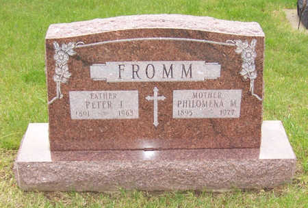 FROMM, PETER J. - Shelby County, Iowa | PETER J. FROMM