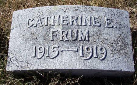FRUM, CATHERINE E. - Shelby County, Iowa | CATHERINE E. FRUM