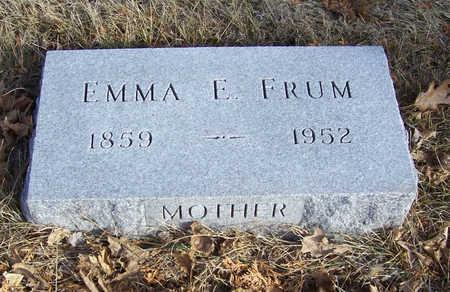 FRUM, EMMA E. (MOTHER) - Shelby County, Iowa | EMMA E. (MOTHER) FRUM