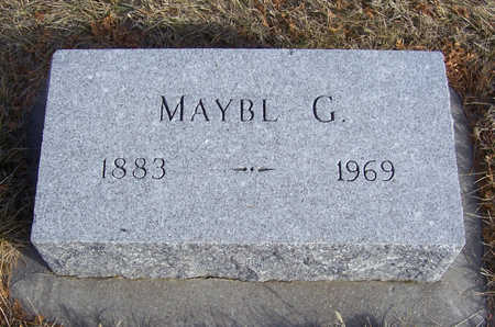 FRUM, MAYBL G. - Shelby County, Iowa | MAYBL G. FRUM