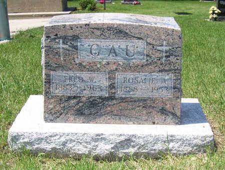GAU, FRED W. - Shelby County, Iowa | FRED W. GAU