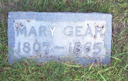 GEAR, MARY - Shelby County, Iowa | MARY GEAR