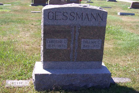 GESSMANN, CHRISTINE D. (MOTHER) - Shelby County, Iowa   CHRISTINE D. (MOTHER) GESSMANN
