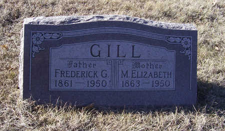 GILL, FREDERICK G. (FATHER) - Shelby County, Iowa | FREDERICK G. (FATHER) GILL