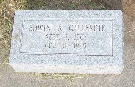 GILLESPIE, EDWIN K. - Shelby County, Iowa | EDWIN K. GILLESPIE