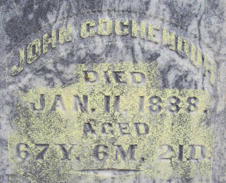 GOCHENOUR, JOHN (CLOSE-UP) - Shelby County, Iowa | JOHN (CLOSE-UP) GOCHENOUR