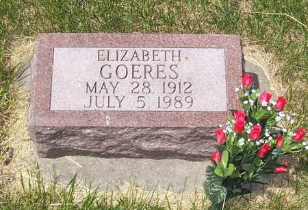 GOERES, ELIZABETH - Shelby County, Iowa | ELIZABETH GOERES