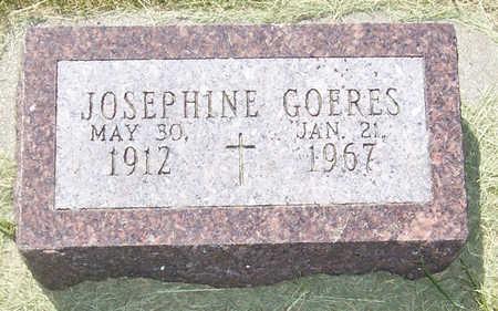 GOERES, JOSEPHINE - Shelby County, Iowa | JOSEPHINE GOERES