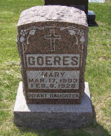 GOERES, MARY - Shelby County, Iowa | MARY GOERES
