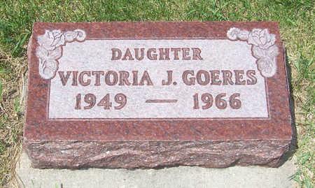 GOERES, VICTORIA J. - Shelby County, Iowa | VICTORIA J. GOERES