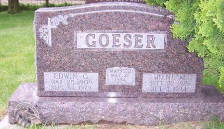 GOESER, EDWIN G. - Shelby County, Iowa | EDWIN G. GOESER
