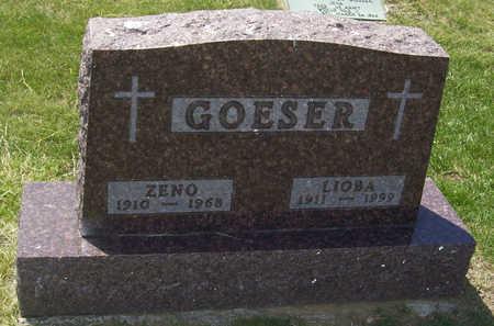 GOESER, LIOBA - Shelby County, Iowa   LIOBA GOESER