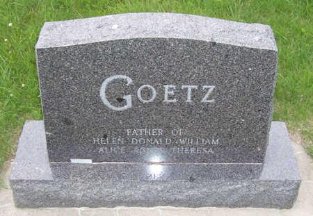 GOETZ, ALOIS A. (BACK) - Shelby County, Iowa   ALOIS A. (BACK) GOETZ