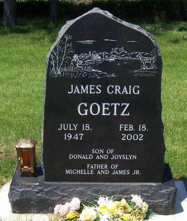 GOETZ, JAMES CRAIG - Shelby County, Iowa | JAMES CRAIG GOETZ