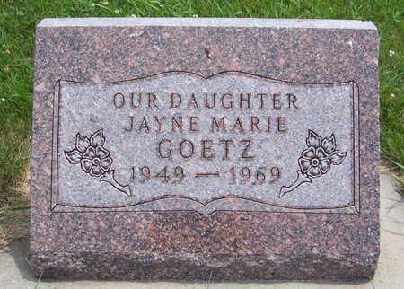 GOETZ, JAYNE MARIE - Shelby County, Iowa | JAYNE MARIE GOETZ
