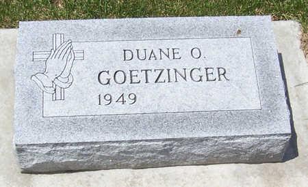 GOETZINGER, DUANE O. - Shelby County, Iowa | DUANE O. GOETZINGER