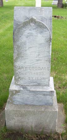 GOODALE, MARY - Shelby County, Iowa | MARY GOODALE