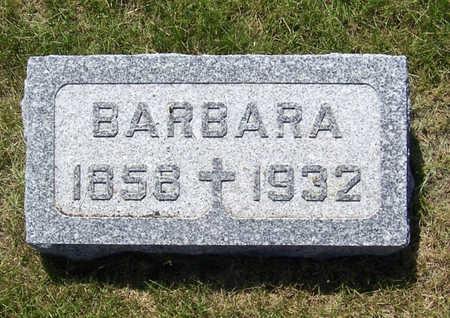 GORSCHE, BARBARA - Shelby County, Iowa | BARBARA GORSCHE