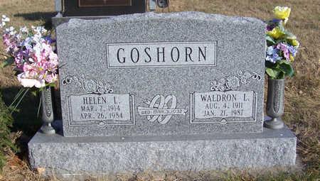 GOSHORN, WALDRON L. - Shelby County, Iowa | WALDRON L. GOSHORN